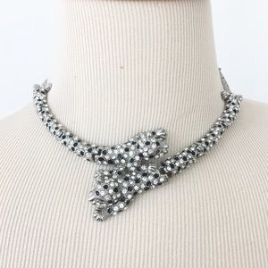 Jewelry - Jaguar/Leopard/Big Cats Rhinestone Necklace Choker